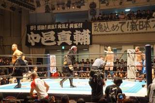 新日本プロレス2015.1.5後楽園ホール観戦記