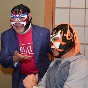 巨人、原監督がサスケマスクを着用!:ザ・グレート・サスケ