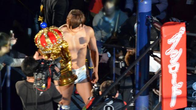 新日本プロレス2015/4/5両国国技館飯伏幸太vsAJスタイルズ