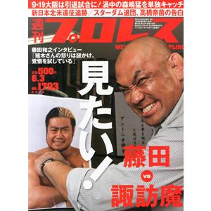 プロレスラーが睨み合ったんだから闘うしかないでしょ!藤田対諏訪魔