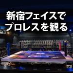 【初心者必見】新宿フェイスの座席を考察、初めてのプロレス観戦!