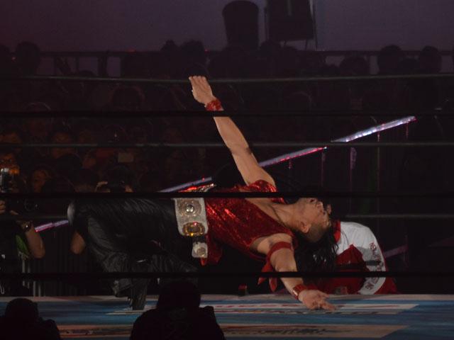 中邑真輔(Shinsuke.nakamura)vsAJスタイルズ(AJStyles)が東京ドーム(TokyoDome)に辿りついた