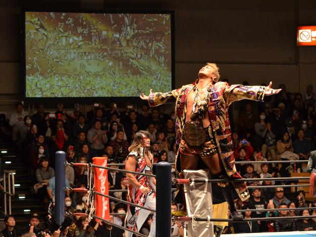 新日本プロレス:オカダ・カズチカ