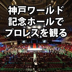 神戸ワールド記念ホールの座席・席順・アクセスを解説。初めてのプロレス観戦!