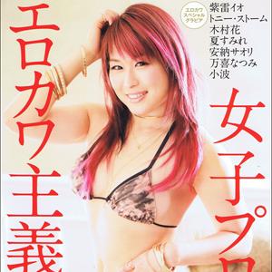 女子プロレス【エロカワ主義7】美女レスラーのセクシーな水着をお届け