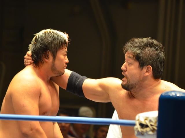 諏訪魔vs石川修司