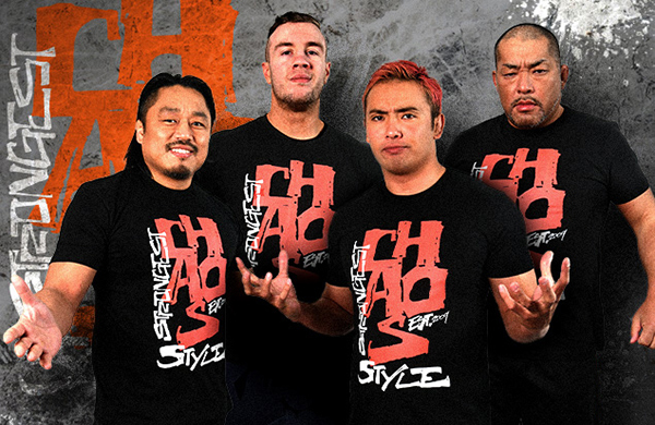 新日本プロレスのCHAOS(ケイオス)とは?オカダ・カズチカのユニットを紹介
