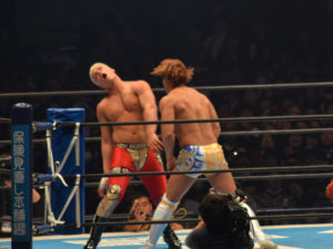 新日本プロレス東京ドーム2018Cody