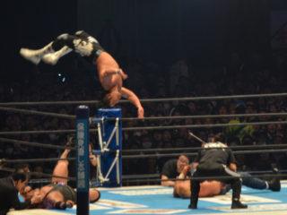 新日本プロレス東京ドーム2018SANADA