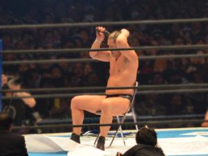新日本プロレス東京ドーム2018鈴木みのる髪切り