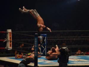 新日本プロレス東京ドーム2018KUSHIDA