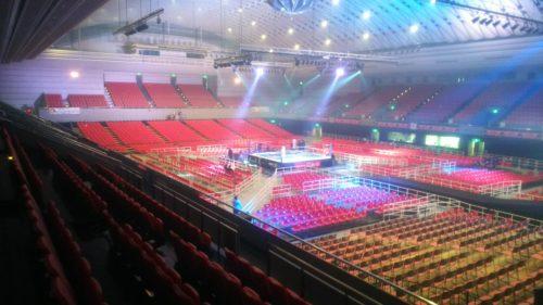 大阪府立体育会館(エディオンアリーナ大阪)第一競技場(2019/02/11)