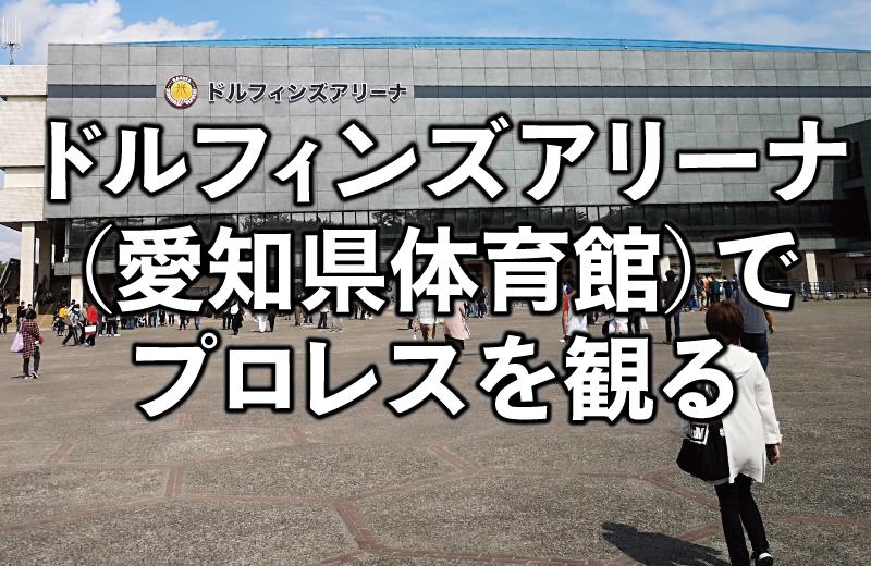 愛知県体育館(ドルフィンズアリーナ)の座席・アクセスを解説。初めてのプロレス観戦!